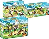 geobra Brandstätter Playmobil Spirit 70329 70330 70331 - Juego de campamento de verano (3 unidades, incluye desafío en el río, aventuras al aire libre)