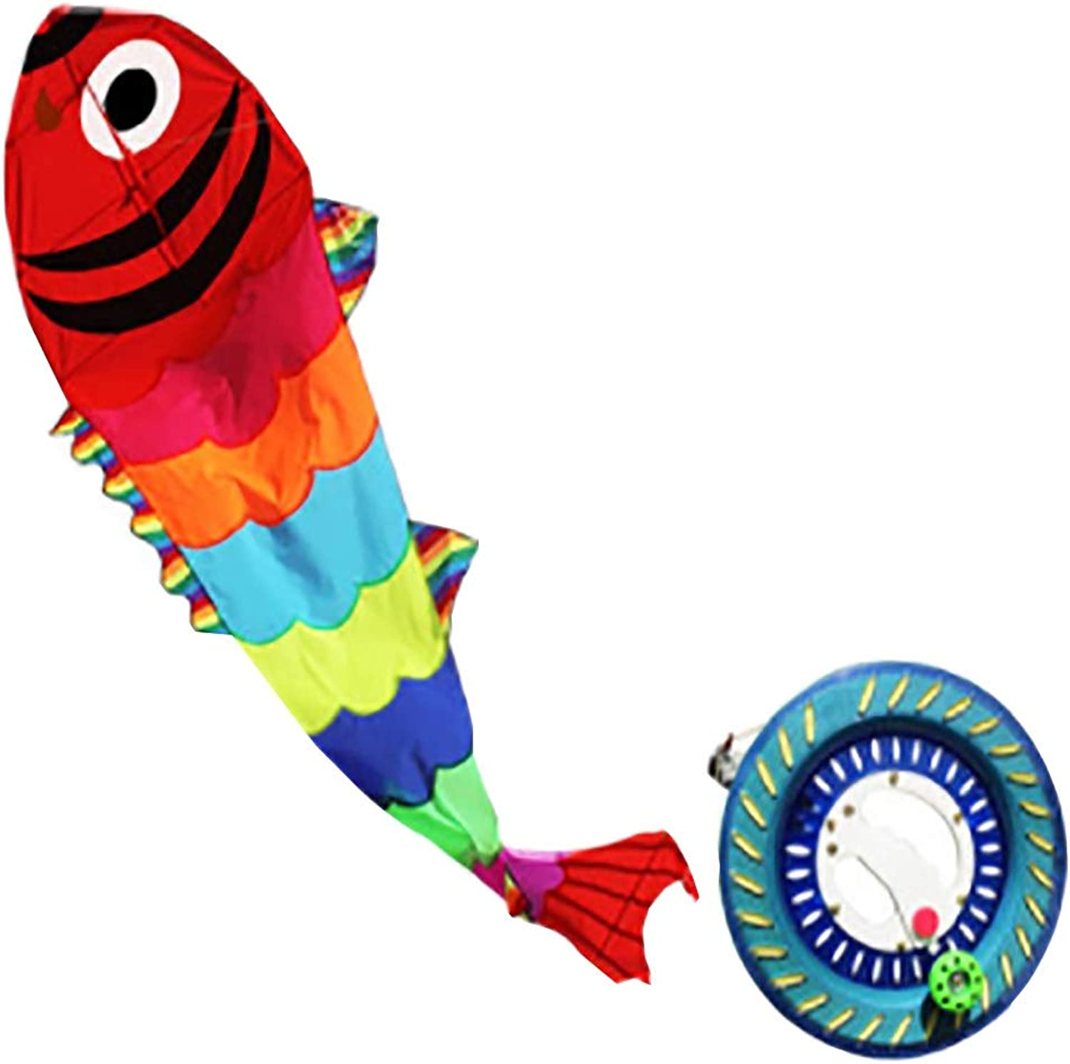 Kite, colorful 8 Styles to Choose from, Spectacular and Easy to Fly Good Toy (Size   H)