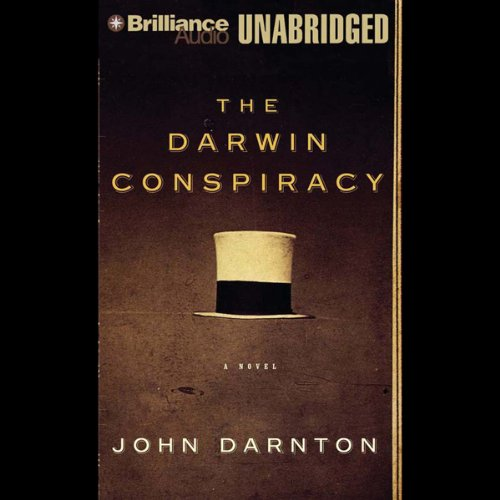 The Darwin Conspiracy audiobook cover art