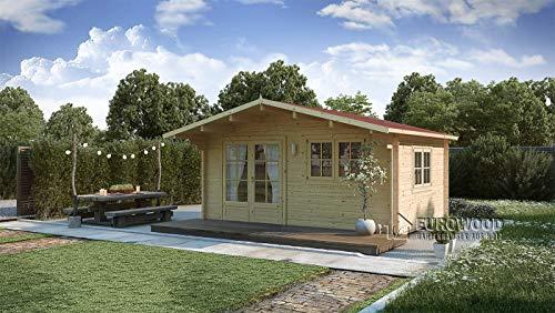 Holz-Sommerhaus/Holz-Gartenhaus 20m2 Monaco...