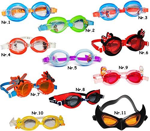 alles-meine.de GmbH Schwimmbrille / Chlorbrille / Taucherbrille -  Disney Frozen - die Eiskönigin  - Kinder von 2 bis 12 Jahre - wasserdicht & Anti Beschlag / verstellbar - Mäd..