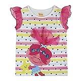 TROLLS S0712901 Camiseta, Rosa, Blanco, 3 años Unisex niños