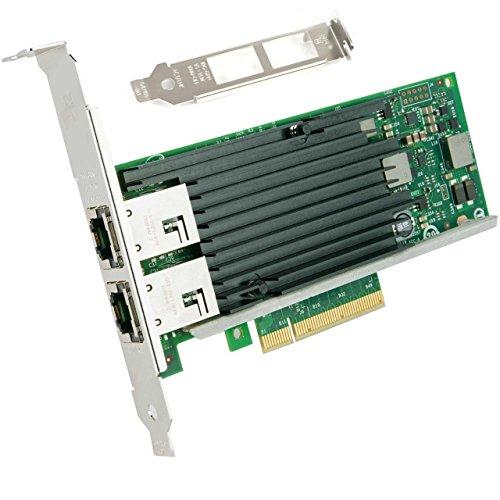 10ギガビット サーバ/デスクトップPCI-e 100Mbps/1/10Gbps自動ネゴシエーションネットワークアダプタ(イン...