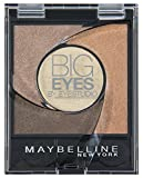 Maybelline New York Lidschatten Eyestudio Big Eyes Palette Brown 01 / Eyeshadow Set in Braun-Tönen mit Wet-Technologie und Perl-Pigmenten, 1 x 3,7 g