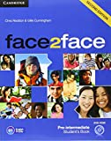 face2face for Spanish Speakers Second Edition Pre-intermediate Student's Pack (Student's Book with DVD-ROM, Spanish Speakers Handbook with CD, Workbook with Key)