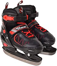 NILS schaatsen hockeyschaatsen ijsschaatsen 2in1 Hockey Sport Wintersport IJs (rood)