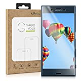 kalibri Folie kompatibel mit Sony Xperia XZ/XZs - 3D Glas Handy Schutzfolie - auch für gewölbtes Bildschirm