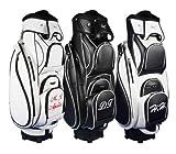 """Personalizada: Bolsa de golf de carro 9.5"""" MADEIRA """"nombre/iniciales"""" en negro"""