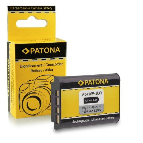 Batería NP-BX1 para Sony CyberShot DSC-HX50 / HX50V | DSC-HX300 | DSC-RX1 / DSC-RX1R | DSC-RX100 / DSC-RX100 II | DSC-WX300 | HDR-AS15 | HDR-GW66 | HDR-GWP88