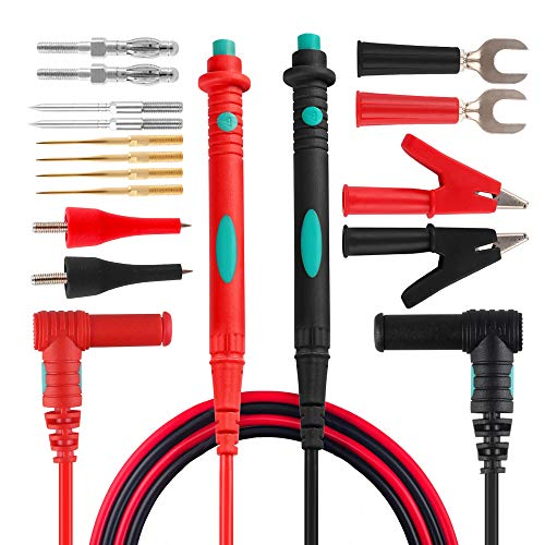 Micsoa Multimeter Test Leads Kit, Digital Multimeter Leads with...