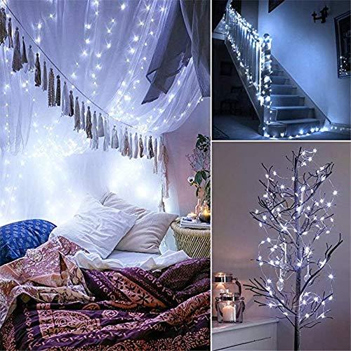 Luces de guirnalda de cuento de hadas LED luces de cadena LED alimentadas por batería, utilizadas para Navidad, bodas, fiesta de cumpleaños decoración navideña Batería 3m30 leds