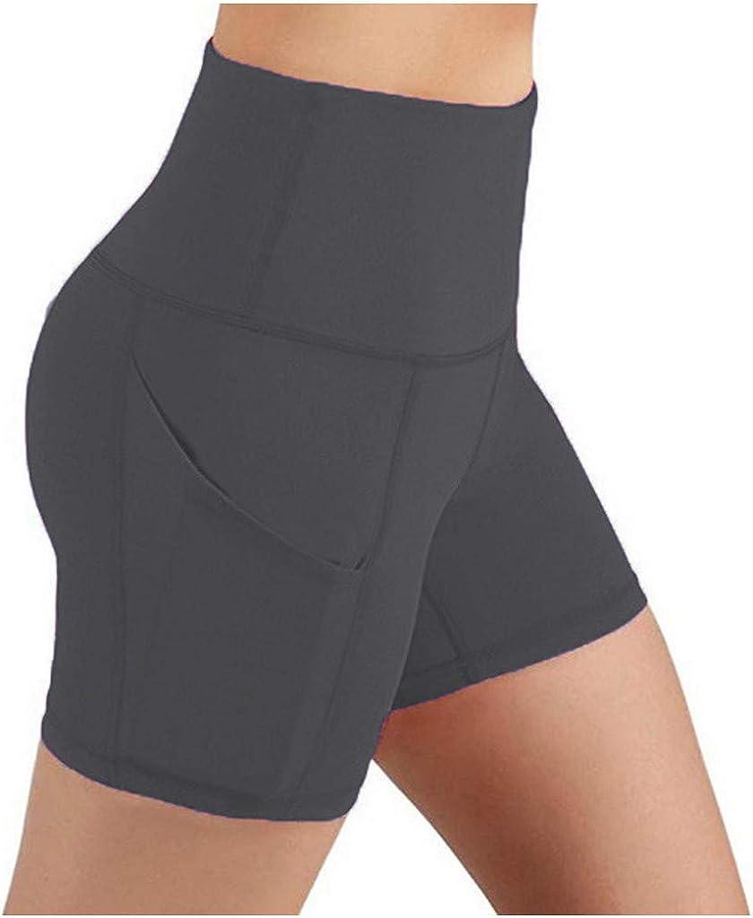 Leggings for Women Butt Lift Tummy Control High-Waist Yoga Shorts Running Fitness Yoga Shorts