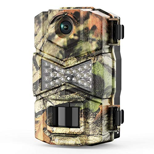 WOSODA Trail Game Camera, 16MP 1080P Waterproof Hunting Scouting Cam...