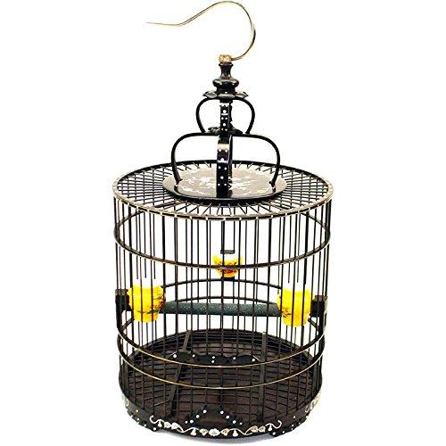 Pet Online Upscale Palisander Vogelkäfig und Voliere thrush Pug-bzw.?Große hölzerne Käfige, Flat Top, 32 * 33,5 cm Haustiere