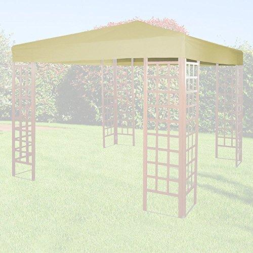 Giardini del Re Telo di Ricambio per Gazebo, Beige, 300x300x1 cm