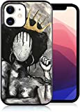 Compatible with iPhone 12 Pro Max Case African Woman Crowned Queen Designed for...