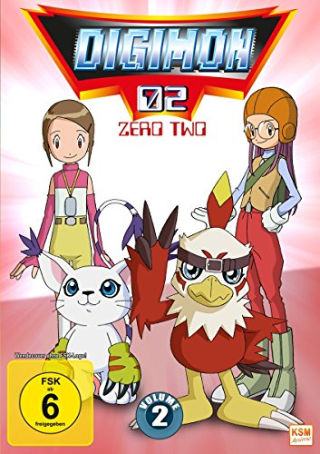 Digimon Adventure 02 (Volume 2: Episode 18-34) [3 DVDs]
