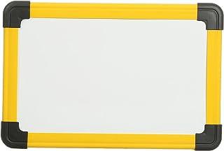 سبورة بيضاء مغناطيسية للاطفال من المعايرجي S-169، 20 × 30 سنتيمتر - اصفر واسود