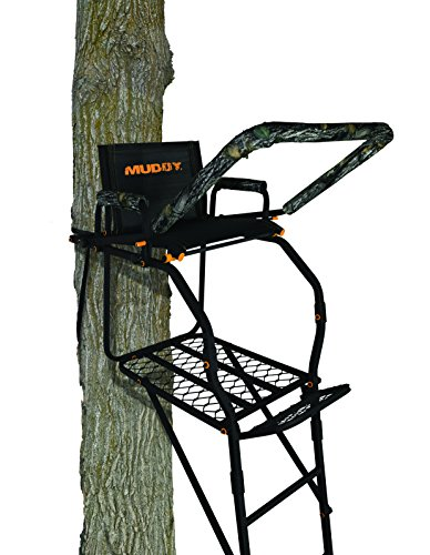 Muddy Huntsman Ladderstand, Black