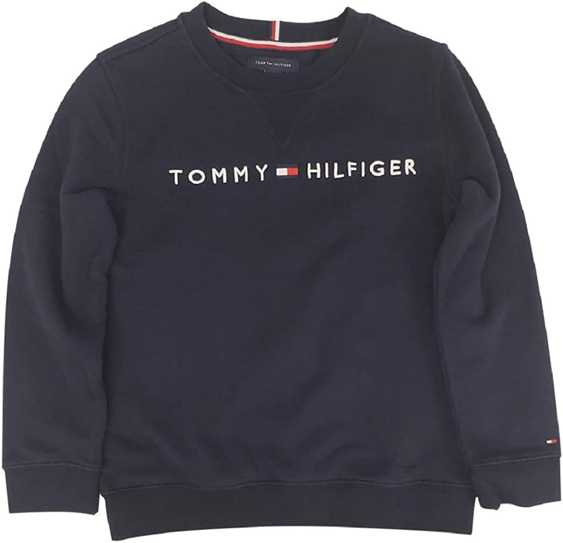 Luxury Tommy Hilfiger Baltimore Mall Boys THD Pullover Crew-Neck Sweater