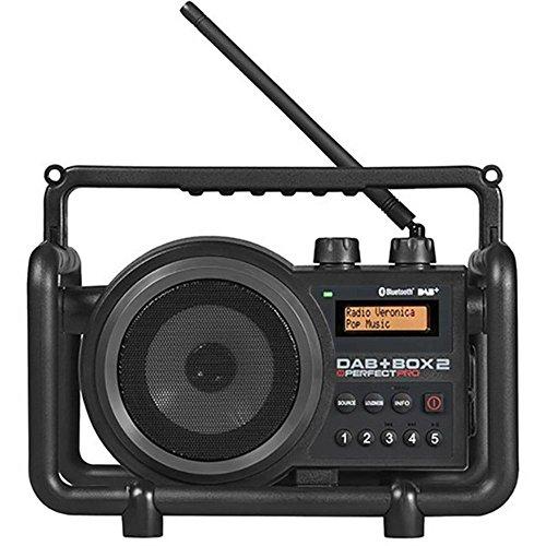 Perfectpro - Tragbares Radio, DAB+Box 2 (Portabel, DAB+,FM, 7 W, 12,7 cm, LCD) Schwarz