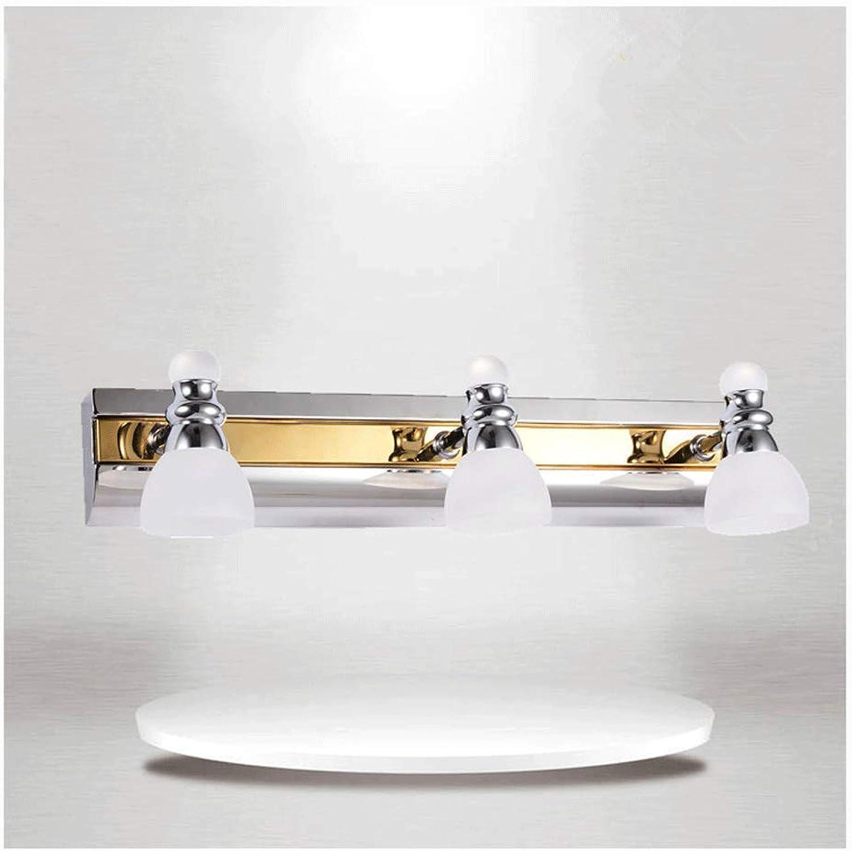 WB_L Spiegellampen 3 kopf high-end Badezimmerspiegellampen Moderne Minimalistische Badezimmerspiegellampe Badezimmerlampe 9WLED Bad Beleuchtung Make-up Lampe Dekorative Beleuchtung