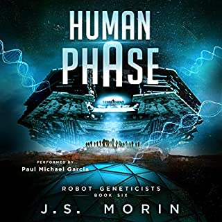 Human Phase audiobook cover art