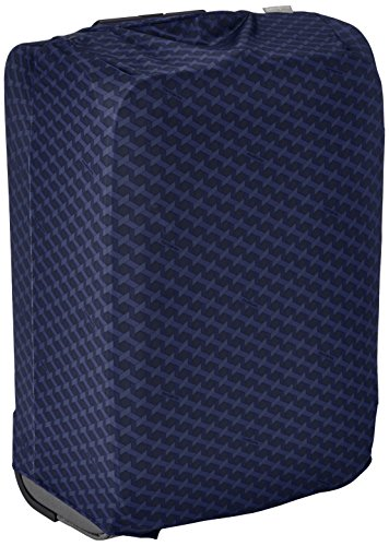 Samsonite Housse de Protection pour Valise L Anti-Pluie, 24 cm, Bleu Jacquard