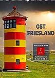 Ostfriesland - Appetit auf mehr (Wandkalender 2022 DIN A2 hoch): Ein kulinarischer Wandkalender mit original ostfriesischen Rezepten. (Geburtstagskalender, 14 Seiten )
