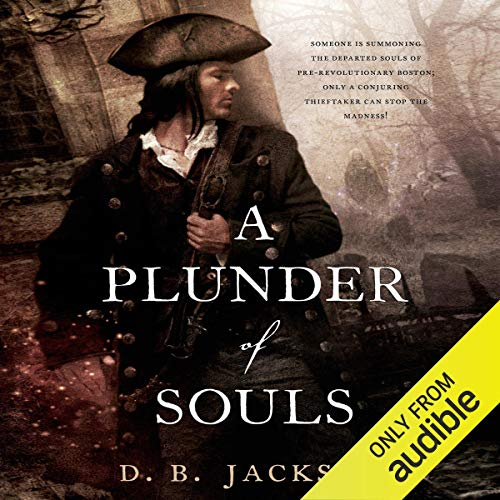 A Plunder of Souls audiobook cover art
