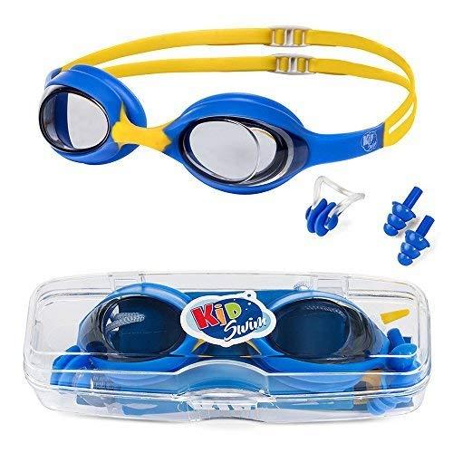 KidSwim - Gafas de natación para niños (Edad 4 – 12), si
