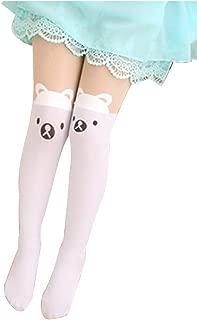 FairOnly Children Pantyhose Cartoon Stockings Stitching Dance Socks