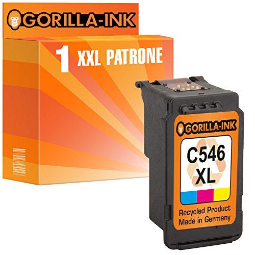 Gorilla-Ink 1x Druckerpatrone XXL remanufactured für Canon CL-546 XL Pixma MG 2900 Series MG 2950 MG 3053 MX 490 Series MX 494 MX 495