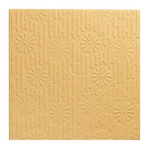 Paneles para paredes interiores Espuma PE 3D Pegatinas De Pared De Mampostería Fondo De Pantalla Relief |Reducción De Ruido |Habitación Sala Cocina Decoración 70 * 70cm Panel de pared 3D decorativo