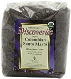 First Colony Organic Whole Bean Coffee, Colombian Santa Marta, 24-Ounce