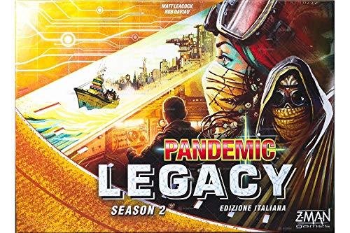 Asmodee Italia Pandemic Legacy Season 2 - Juego de Mesa, Color Amarillo, 8394