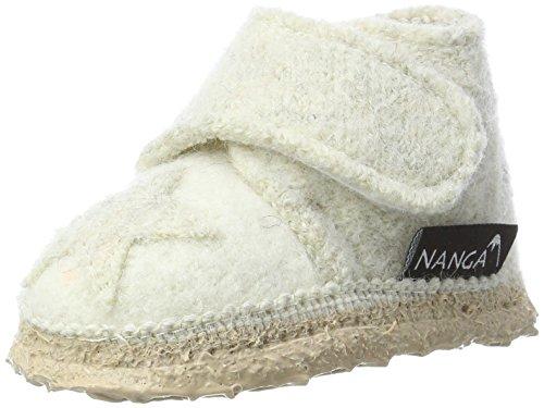 Nanga Baby Babyhausschuh Stern winterweiß 17