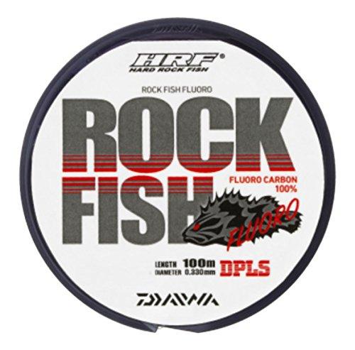 ダイワ(DAIWA) フロロライン HRF ロックフィッシュ FLUORO 16lb. 100m クリアピンク