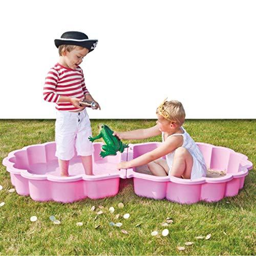 Paradiso Toys 760 Sandmuschel / Wassermuschel pink 2-tlg., ca. 87 x 78 x 19,5 cm