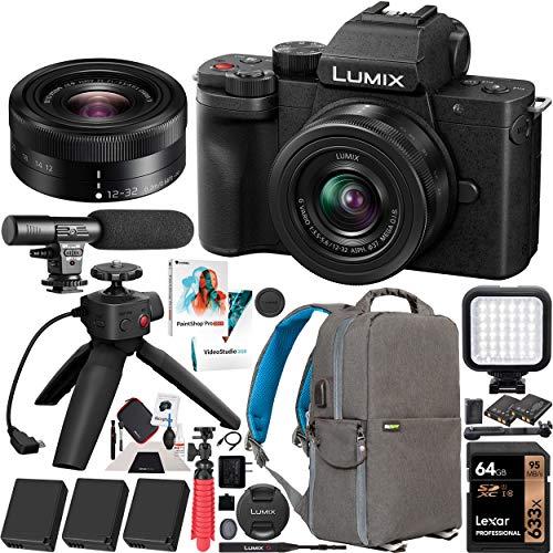 Panasonic DC-G100VK LUMIX G100 Mirrorless Camera...