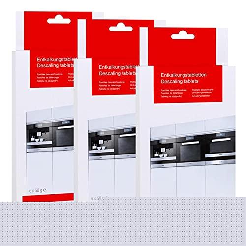 Miele Entkalkungstabletten 18 stk Dampfgarer 3 Packungen