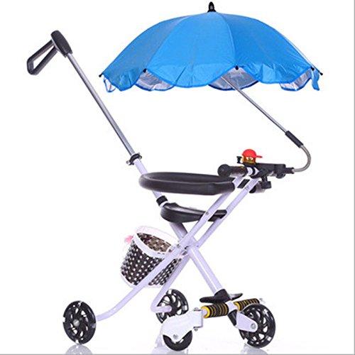 SmartPro Parasol pour poussette landau Protection contre la pluie le soleil