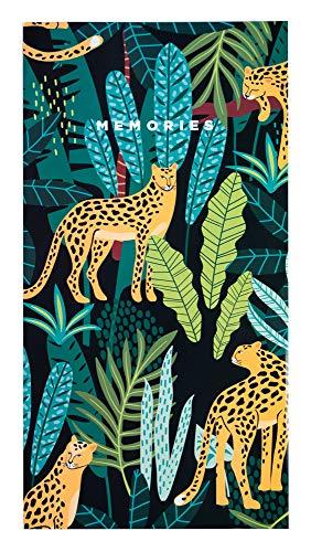 Grupo Erik Erik-Album Foto 10x15 cm, 96 Tasche, Copertina Morbida-Leopard, 10x15-96