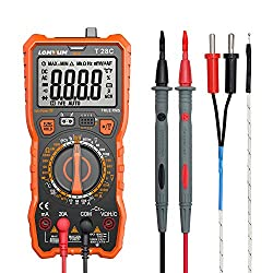 Lomvum Digital Multimeter, 6000 Counts Electrical Tester AC/DC Voltage Current Detector, NCV, Resistance, Capacitance, Diode Electronic, Duty Cycle Tester