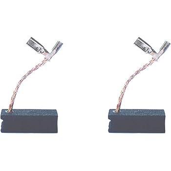 Carbon Brush Compatible for Dewalt DWP611 Porter Cable 450 Router, Dewalt A27343-4 Motor Brushes Replacement Part - Set of 2