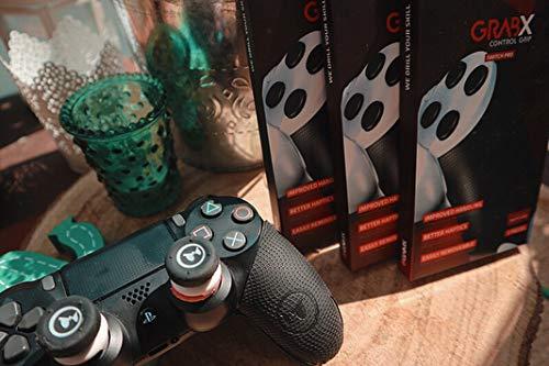 GAIMX CURBX Probierset in 6 Stärken – Premium Stoßdämpfer für Thumbstick – Zielhilfe für PS4, PS5, Xbox und Google Stadia – Analogstick für FPS & 3rd Person Shooter - 9