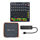 Novation Launch Control XL MIDI USB Ableton Live Controller Bundle with Launch Control XL Case & Knox 3.0 4 Port USB Hub (3 Items)