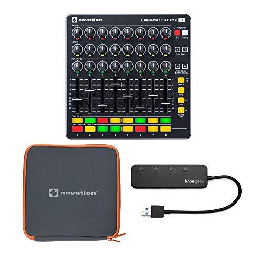 Sale!! Novation Launch Control XL MIDI USB Ableton Live Controller Bundle with Launch Control XL Cas...