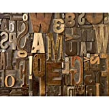Fototapeten Holz Holzwand 352 x 250 cm Vlies Wand Tapete Wohnzimmer Schlafzimmer Büro Flur Dekoration Wandbilder XXL Moderne Wanddeko - 100% MADE IN GERMANY - Braun Runa Tapeten 9013011b