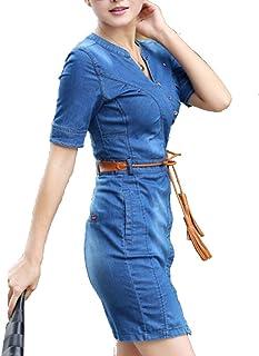 d56c3db1939 Amazon.ca  Denim - Dresses   Women  Clothing   Accessories